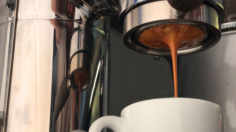 Naked portafilter espresso